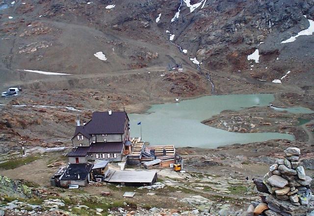 Im Hinterem Eis 3.270m Hinterm Schönen Aussicht Hütte - Berge-Hochtouren.de