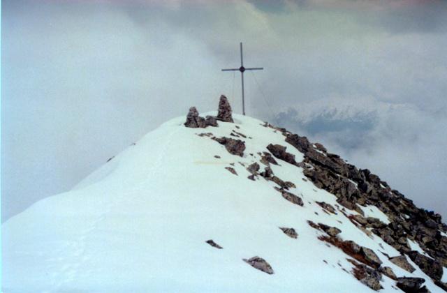 Vermoispitze 2.929m im Schnalstal über St. Martin im Kofel - Berge-Hochtouren.de