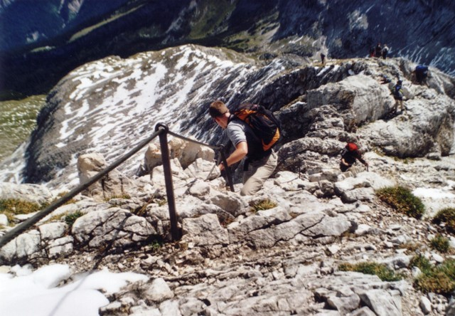 Alpspitze 2.628m Bernaideinspitze 2.144m im Wettersteingebirge - Berge-Hochtouren.de