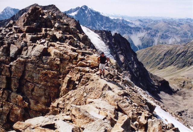 Hoher Angelus 3.521 m über Reinstadler Route - Berge-Hochtouren.de