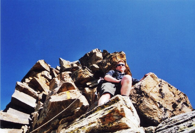 Tschenglser Hochwand 3.375 m Otto-Erich Klettersteig - Berge-Hochtouren.de