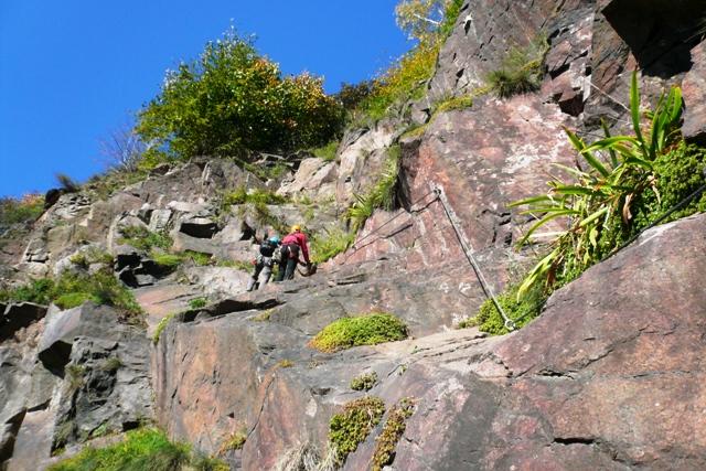 Kurt und Georg Löwinger Klettersteig - Berge-Hochtouren.de