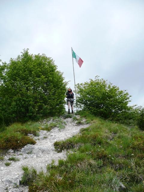 Spigolo della Bandiera Klettersteig Ferrata - Berge-Hochtouren.de