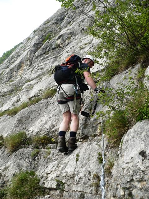 Via Ernesto Che Guevara Monte Casale Klettersteig Ferrata - Berge-Hochtouren.de