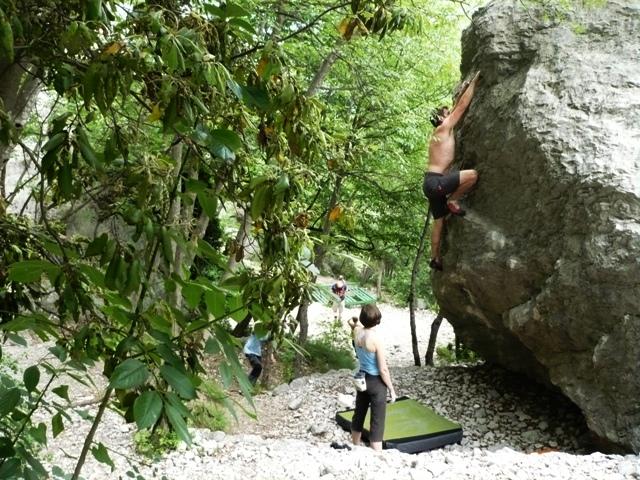 Klettersteig Colodri : Colodri klettersteig bei arco am gardasee auf den berg