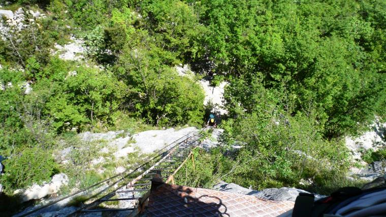 Klettersteig Ferrata Via dell Amicizia Cima SAT - Berge-Hochtouren.de