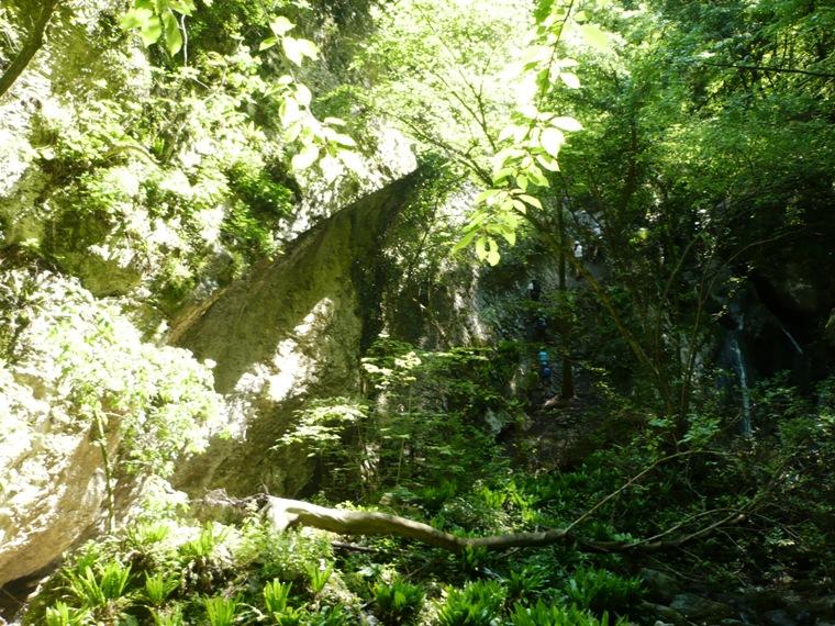 Rio Sallagoni Klettersteig Ferrata - Berge-Hochtouren.de