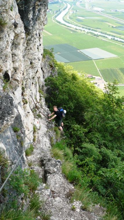 Rio Secco Klettersteig Ferrata - Berge-Hochtouren.de
