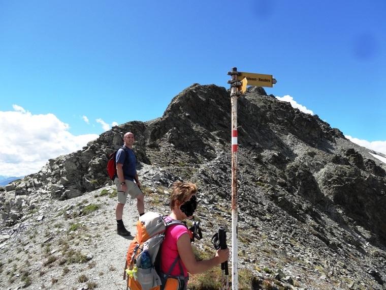 Klettersteig Nauders : Ganderbildspitze 2.863m ab nauders in den Ötztaler alpen